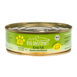 Bio Katzenfutter Rind Pur Rindmuskelfleisch