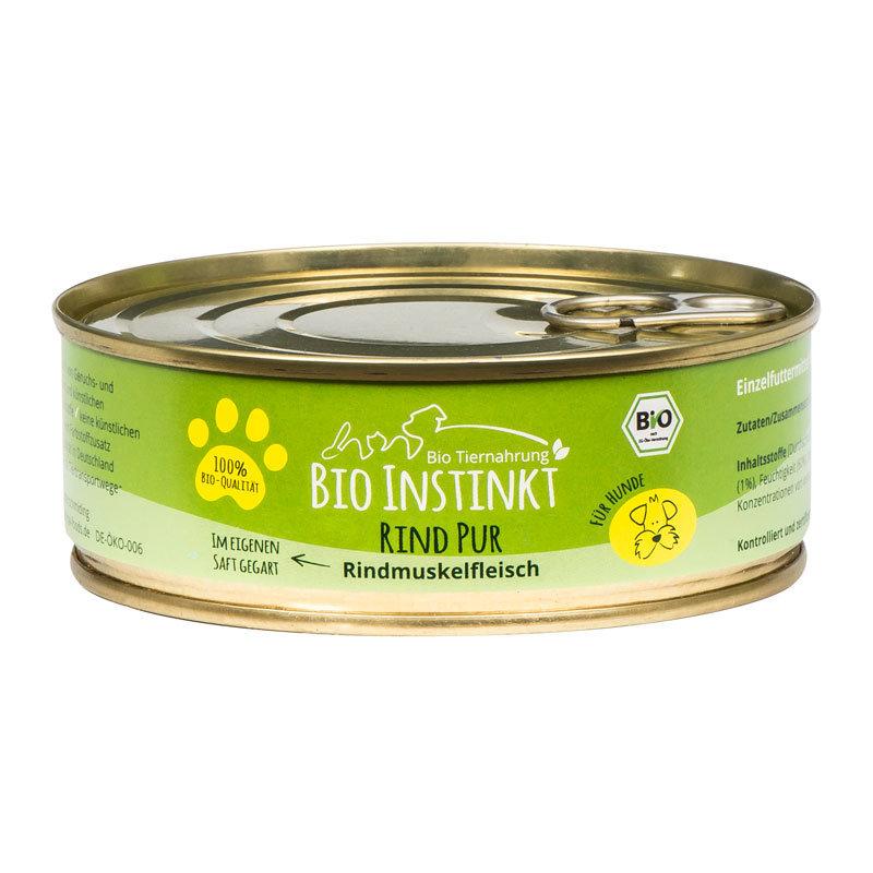 Organic-Animal-Foods-BioInstinkt-Tiernahrung-verpackt-für-Hunde-rind-pur-rindsmuskelfleisch-im-eigenen-saft-gegart-dose